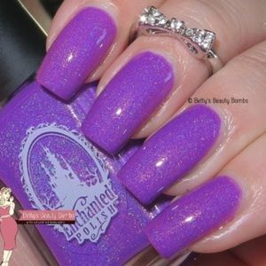OPI Makeup - Enchanted polish MONSTERS INK nail makeup purple